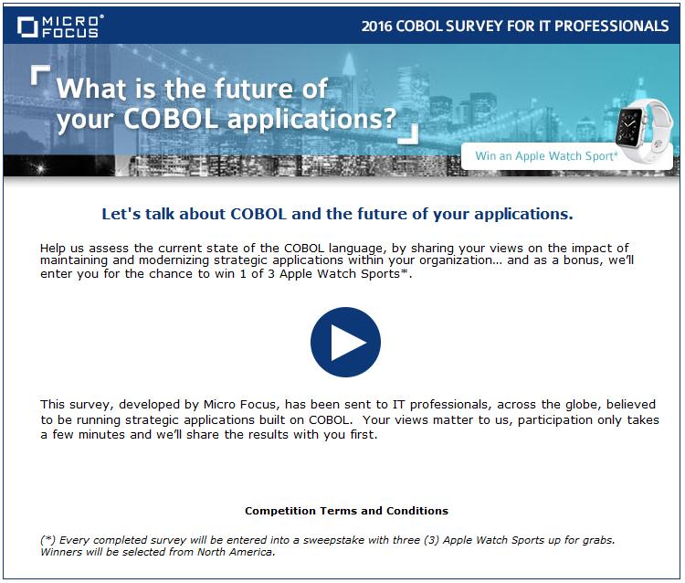 cobol survey