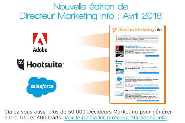 Prospection Directeur Marketing info